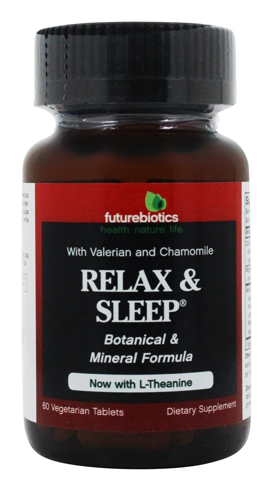 Futurebiotics - Relax & Sleep Formula 2 - 60 Tablets