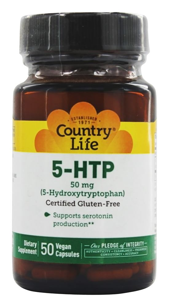 Country Life 5-hydroxytryptophan Vitamins and Supplements