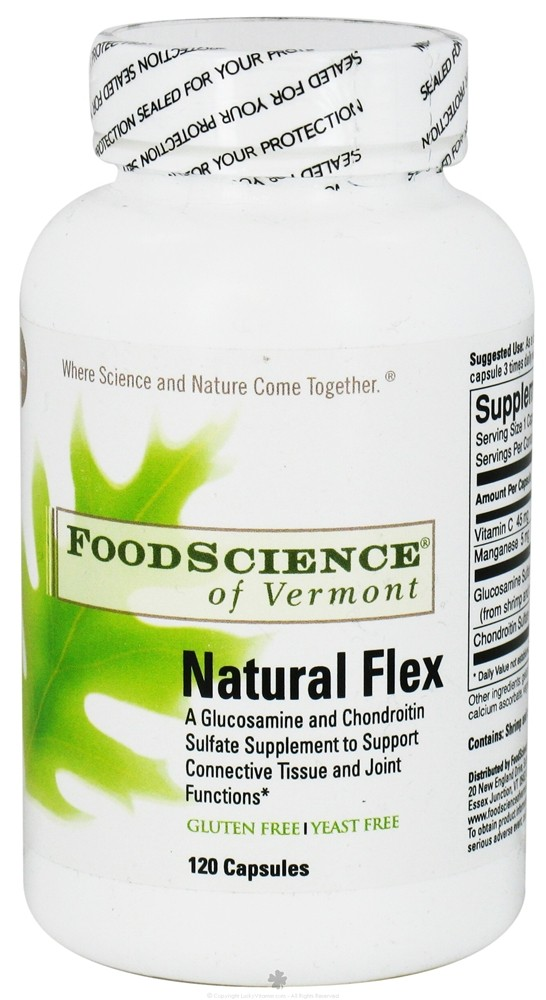 FoodScience of Vermont - Natural Flex - 120 Capsules