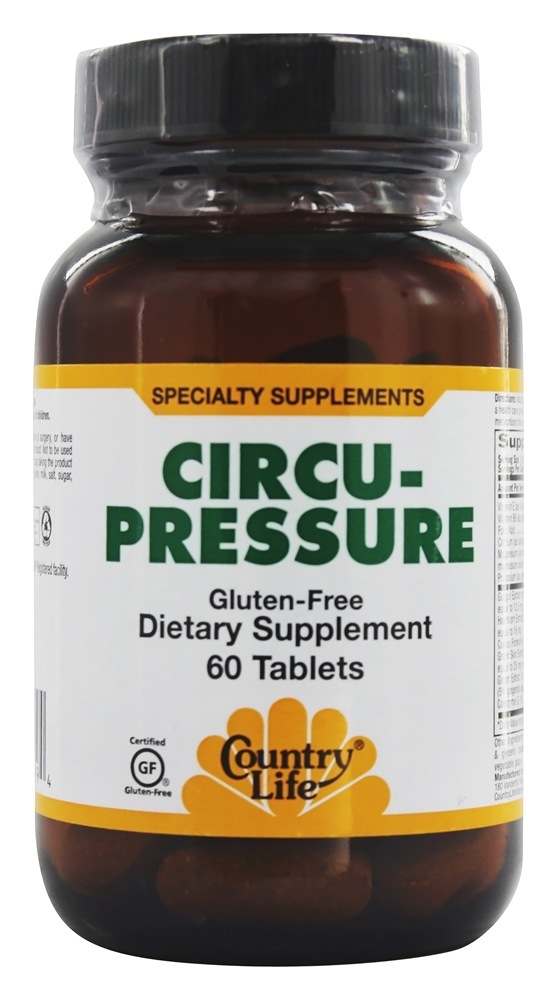 Country Life - Circu-Pressure - 60 Tablets Formerly Biochem