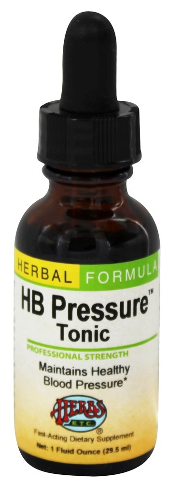 Herbs Etc - HB Pressure Tonic Professional Strength - 1 oz.
