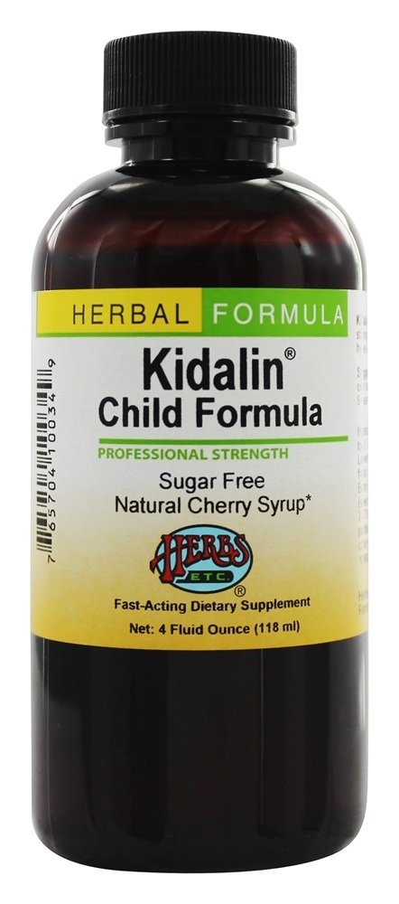 Herbs Etc - Kidalin Child Formula Professional Strength Cherry - 4 oz.