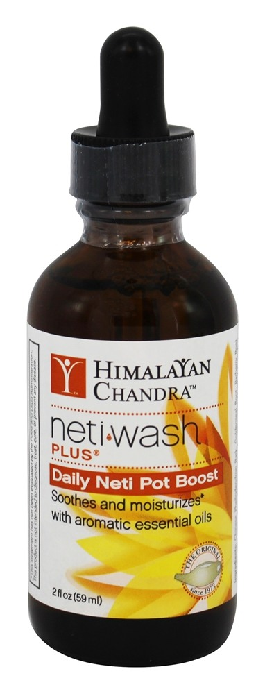 Himalayan Institute - Aromatic Neti Wash Plus Zinc Free - 2 oz. Formerly Varcho Veda Aromatic Neti Wash Plus