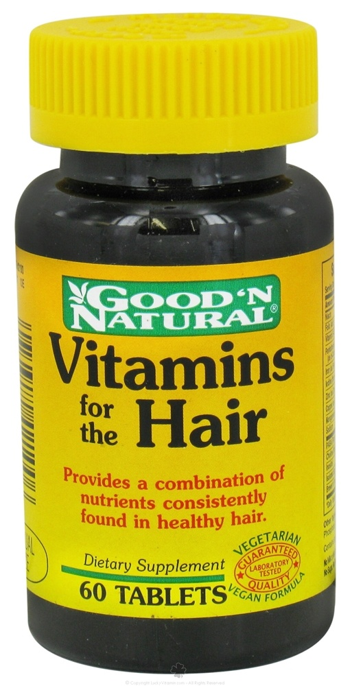 Good 'N Natural - Vitamins for the Hair - 60 Tablets