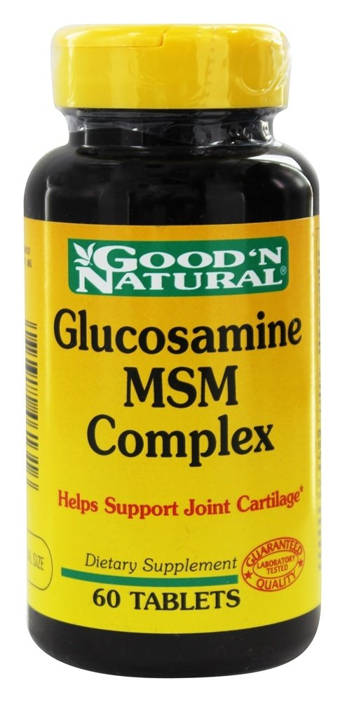 Good 'N Natural - Glucosamine MSM Complex Maximum Strength - 60 Tablets