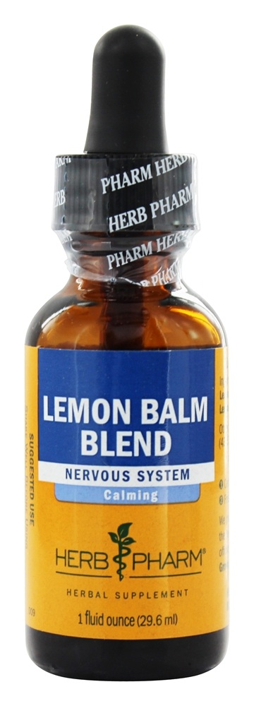 Herb Pharm - Lemon Balm - 1 oz.
