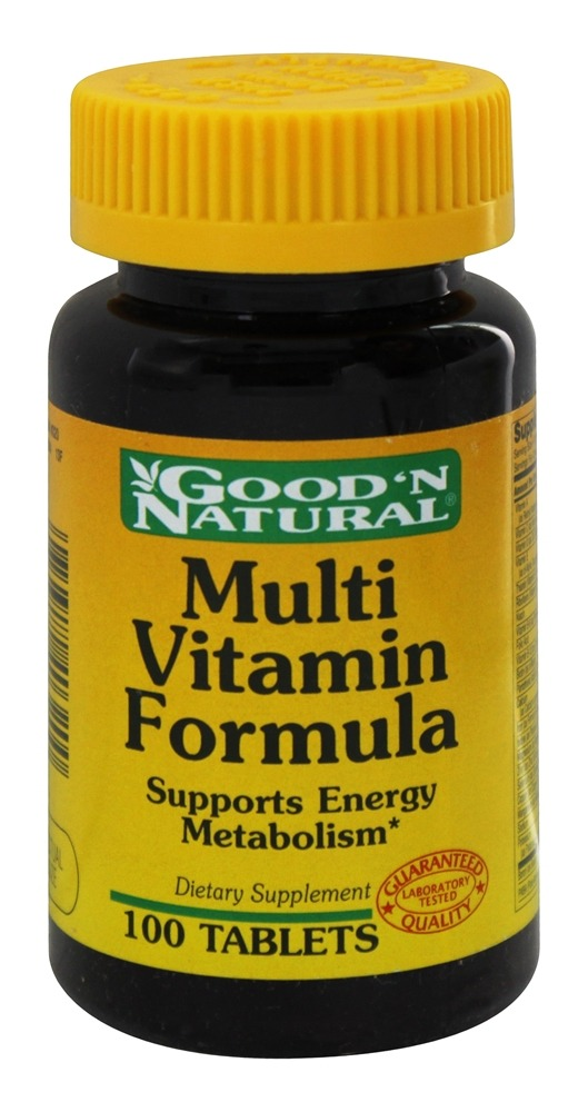 Good 'N Natural - Multi-Vitamin Formula Vitamins Minerals Amino Acids - 100 Tablets