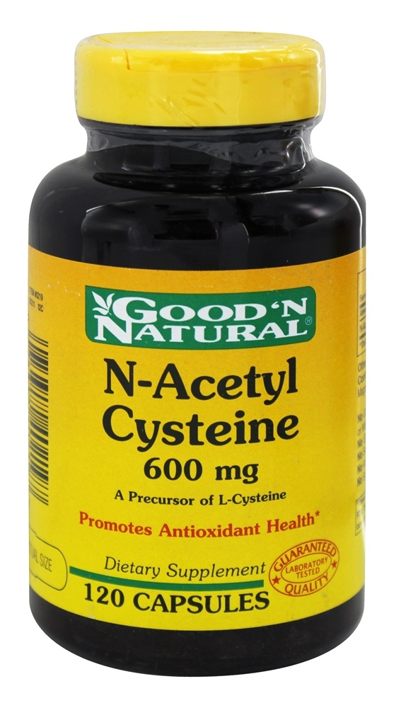 Good 'N Natural - NAC N-Acetyl Cysteine 600 mg. - 120 Capsules