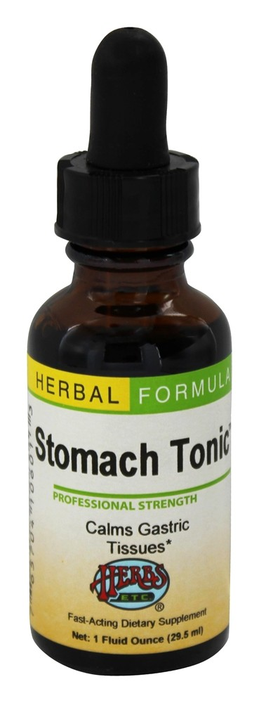 Herbs Etc - Stomach Tonic Professional Strength - 1 oz.