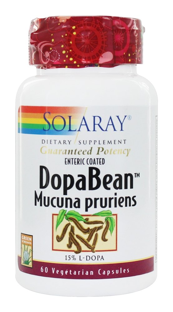 Solaray - Guaranteed Potency DopaBean 333 mg. - 60 Capsules