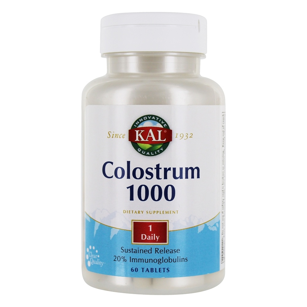 Kal - Colostrum 1000 mg. - 60 Tablets