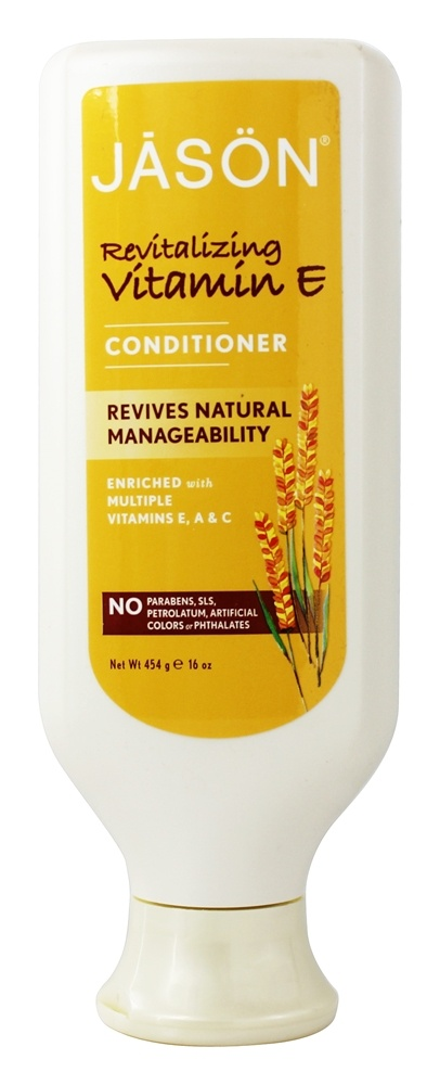Jason Natural Products - Vitamin E with A & C Conditioner Body Enhancing - 16 oz.