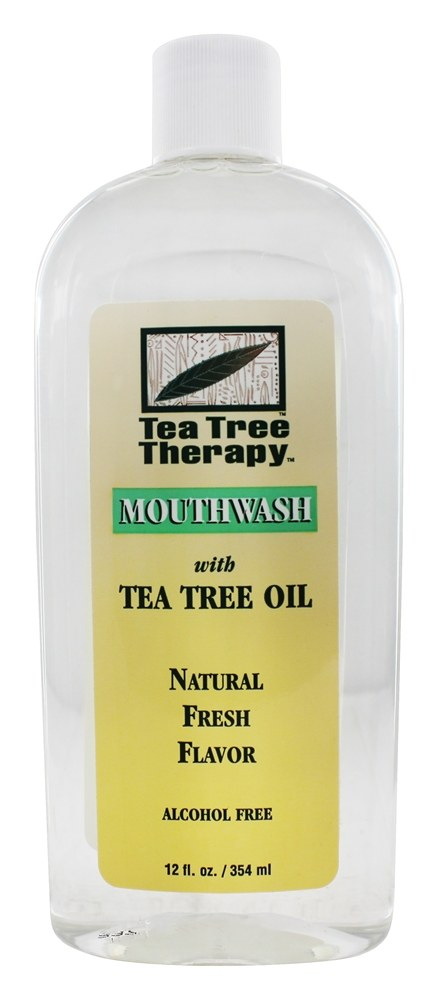 Tea Tree Therapy - Tea Tree Mouthwash - 12 oz.