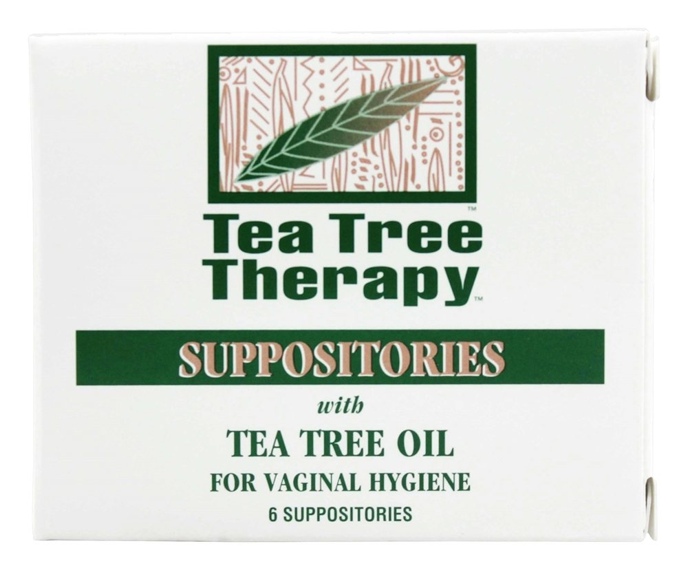 Tea Tree Therapy - Suppositories with Tea Tree Oil - 6 Pack(s)