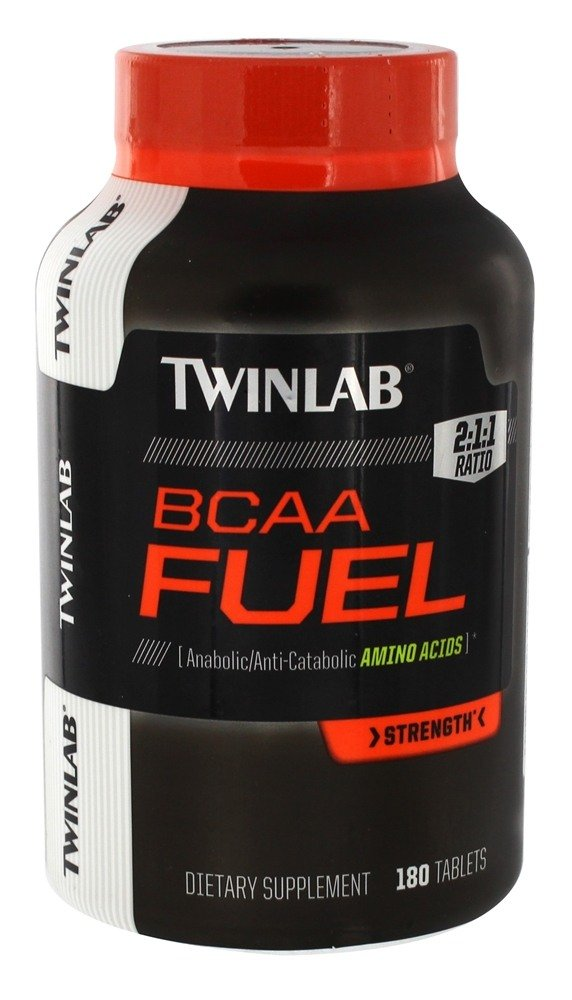 Twinlab - BCAA Fuel Anabolic/Anti-Catabolic Amino Acids - 180 Tablets
