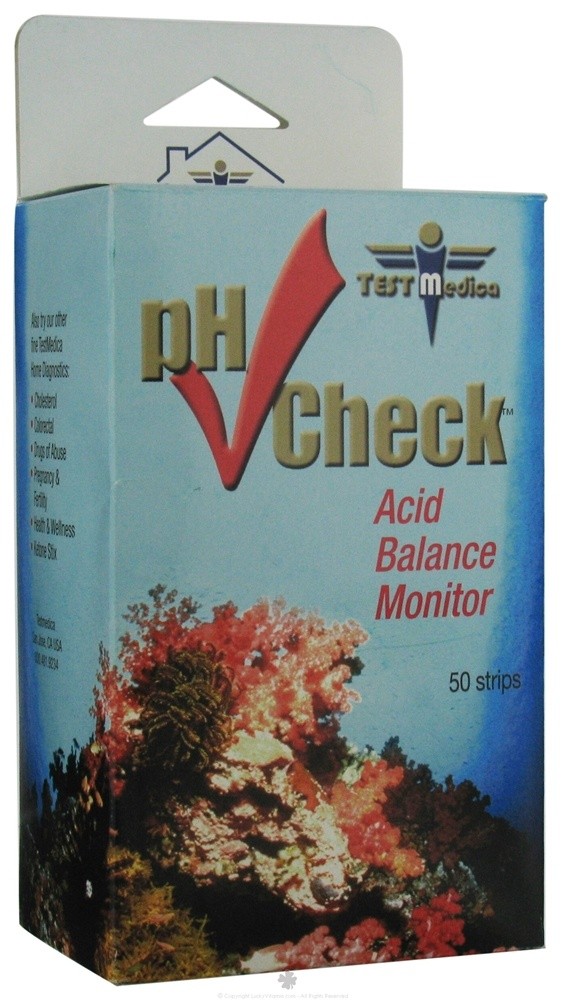TestMedica - pH Check Acid Balance Monitor - 50 Strip(s)