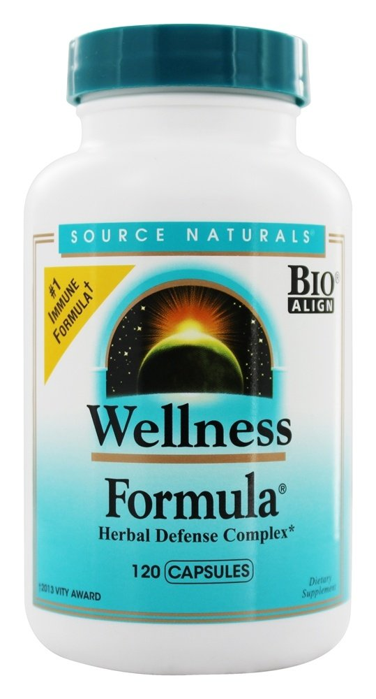 Source Naturals - Wellness Formula Capsules - 120 Capsules