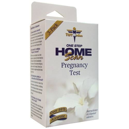 TestMedica - One Step Home Scan Pregnancy Test - 3 Pack(s) CLEARANCE PRICED