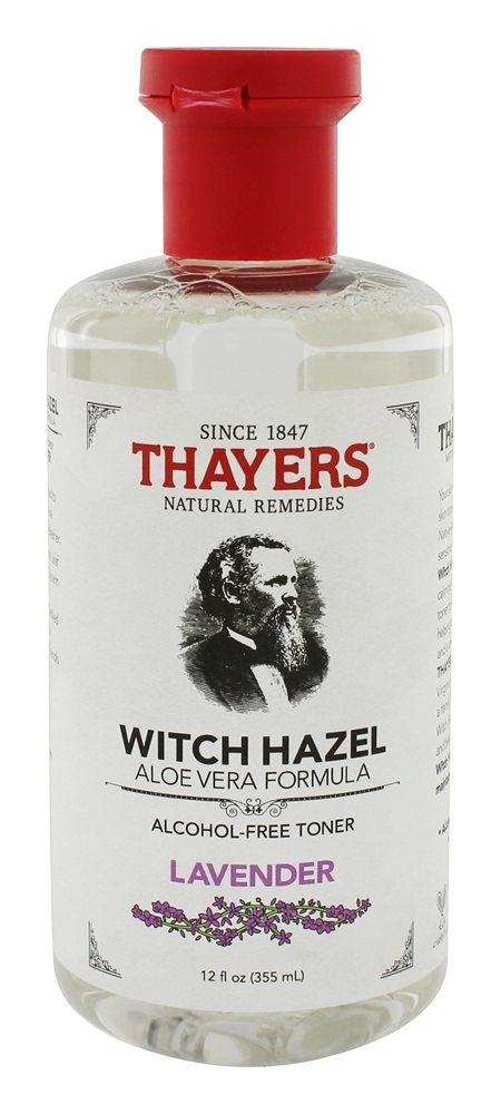 Thayers - Witch Hazel Alcohol-Free Toner with Aloe Vera Formula Lavender - 12 oz.