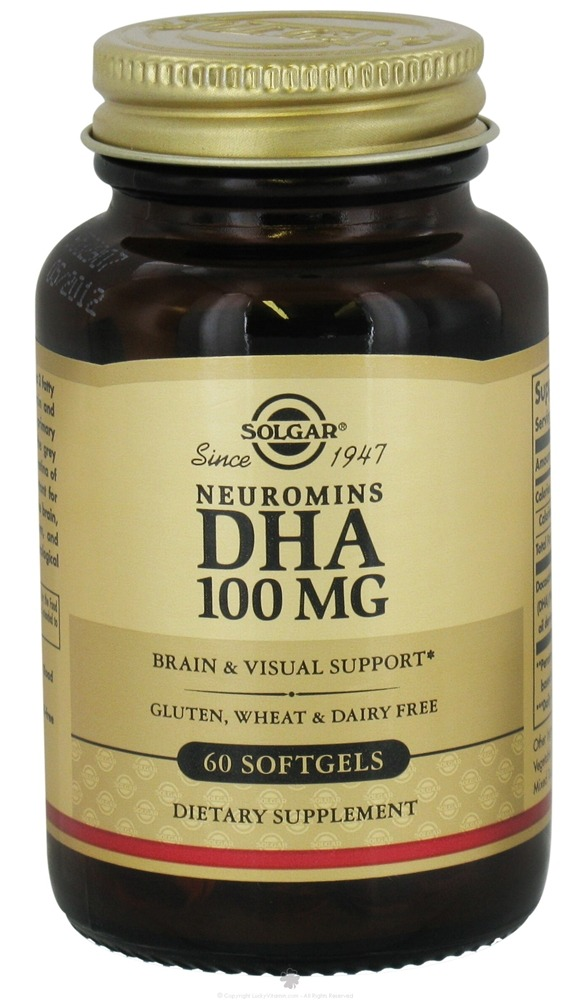 Solgar - Neuromins DHA 100 mg. - 60 Softgels