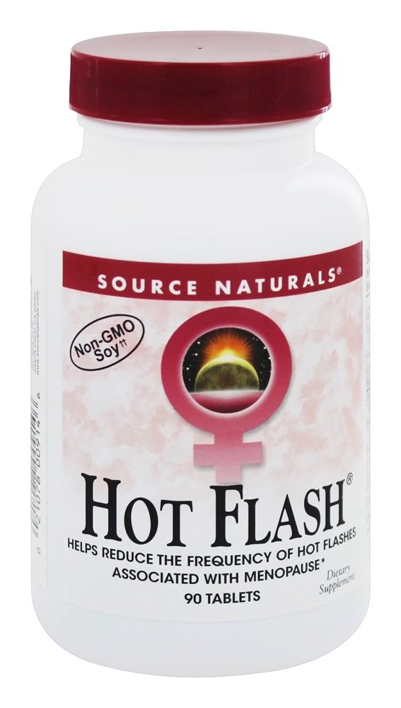 Source Naturals - Hot Flash Eternal Woman - 90 Tablets