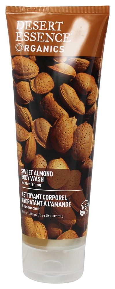 Desert Essence - Body Wash Sweet Almond - 8 oz.