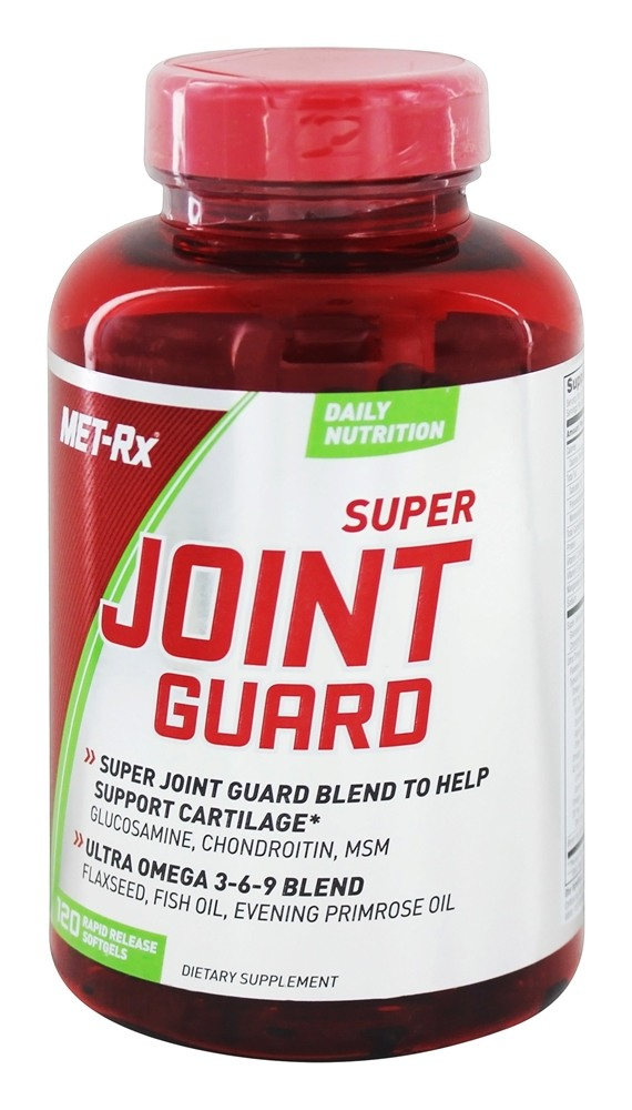 MET-Rx - Super Joint Guard - 120 Softgels
