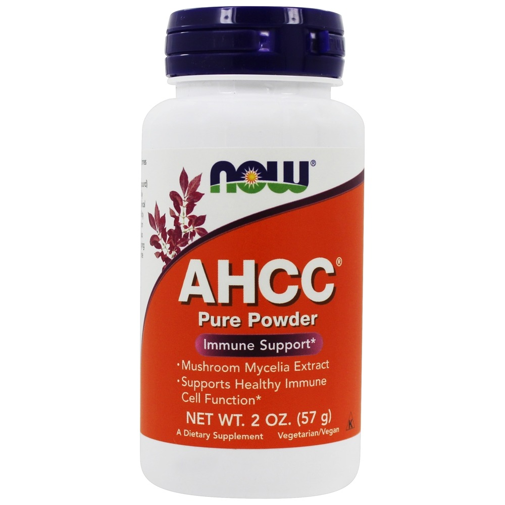 NOW Foods - AHCC 100% Pure Powder Immune Support - 2 oz.