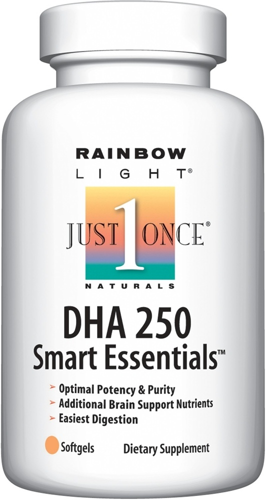 Rainbow Light - DHA 250 Smart Essentials - 60 Softgels