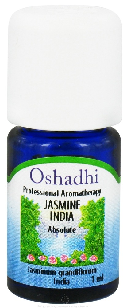 Oshadhi - Professional Aromatherapy Jasmine India Absolute Essential Oil - 1 ml. CLEARANCE PRICED