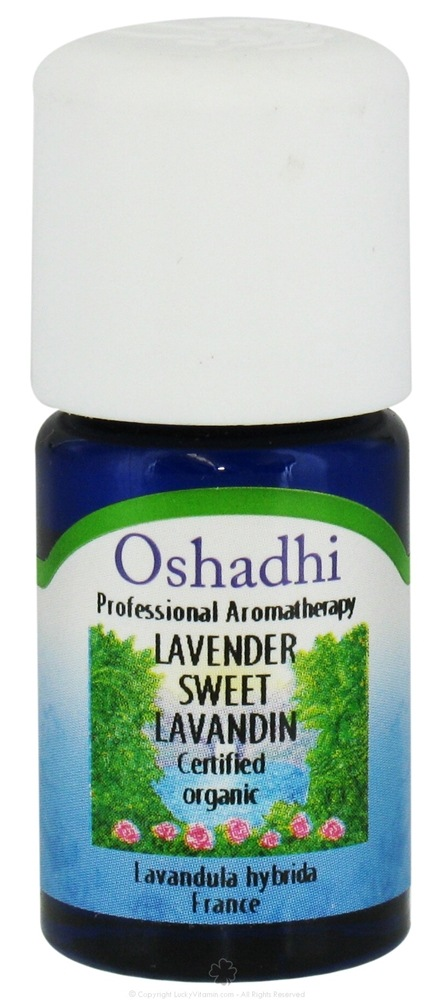 Oshadhi - Professional Aromatherapy Lavender Sweet Lavandin Organic Essential Oil - 5 ml. CLEARANCE PRICED