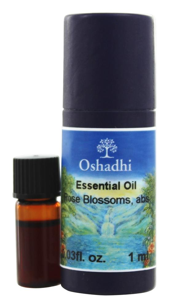 Oshadhi - Professional Aromatherapy Rose Absolute Essential Oil - 1 ml.