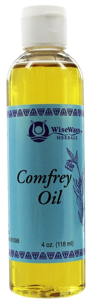 Wise Ways - Comfrey Oil - 4 oz.