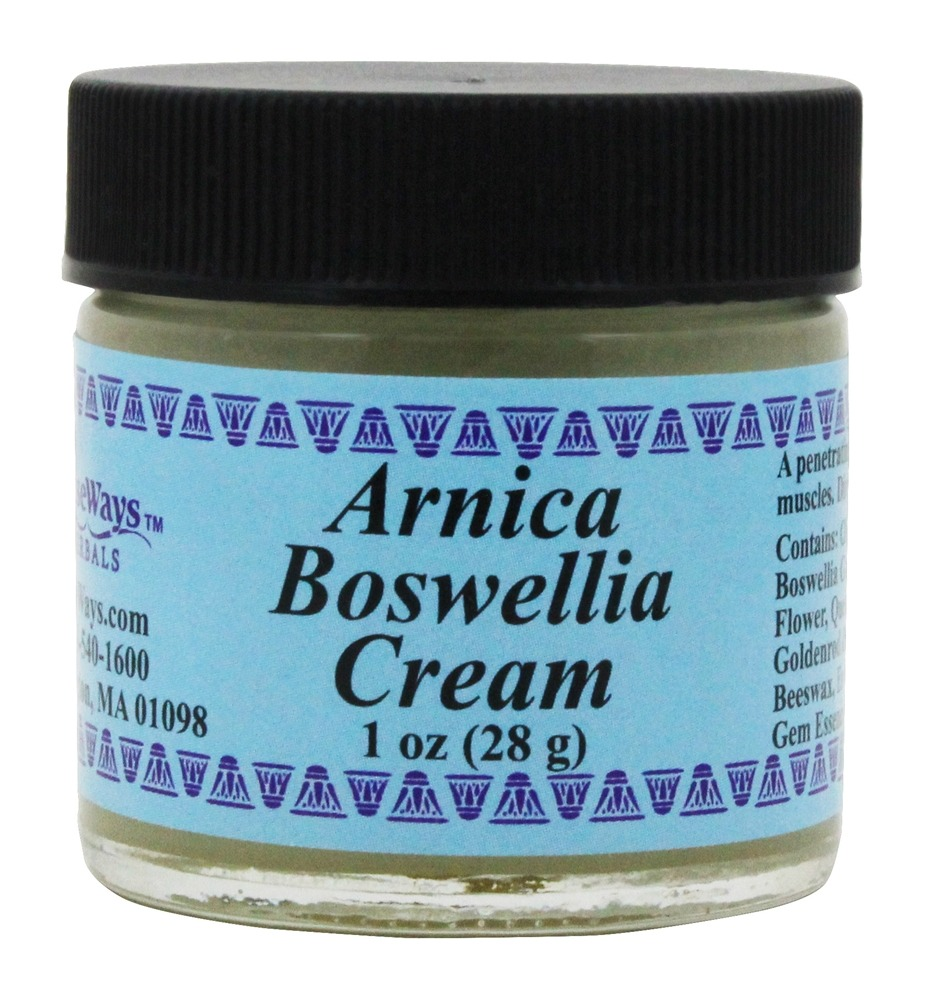 Wise Ways - Arnica Boswella Cream - 1 oz.