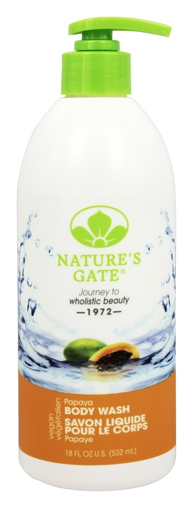 Nature's Gate - Body Wash Velvet Moisture Papaya - 18 oz.