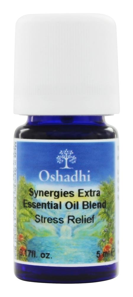 Oshadhi - Professional Aromatherapy Stress Relief Synergy Blend Essential Oil - 5 ml.