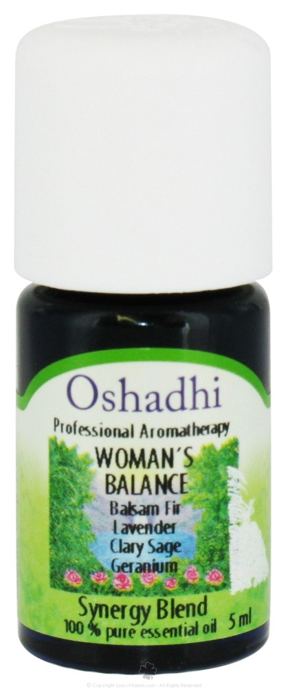Oshadhi - Professional Aromatherapy Woman's Balance Synergy Blend Essential Oil - 5 ml.