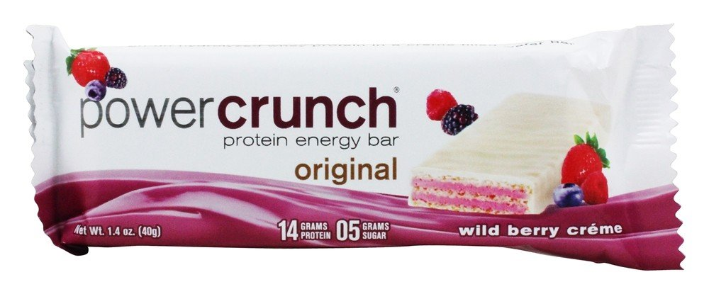 BioNutritional Research Group - Power Crunch High Protein Energy Wafer Wild Berry Creme - 1.4 oz.