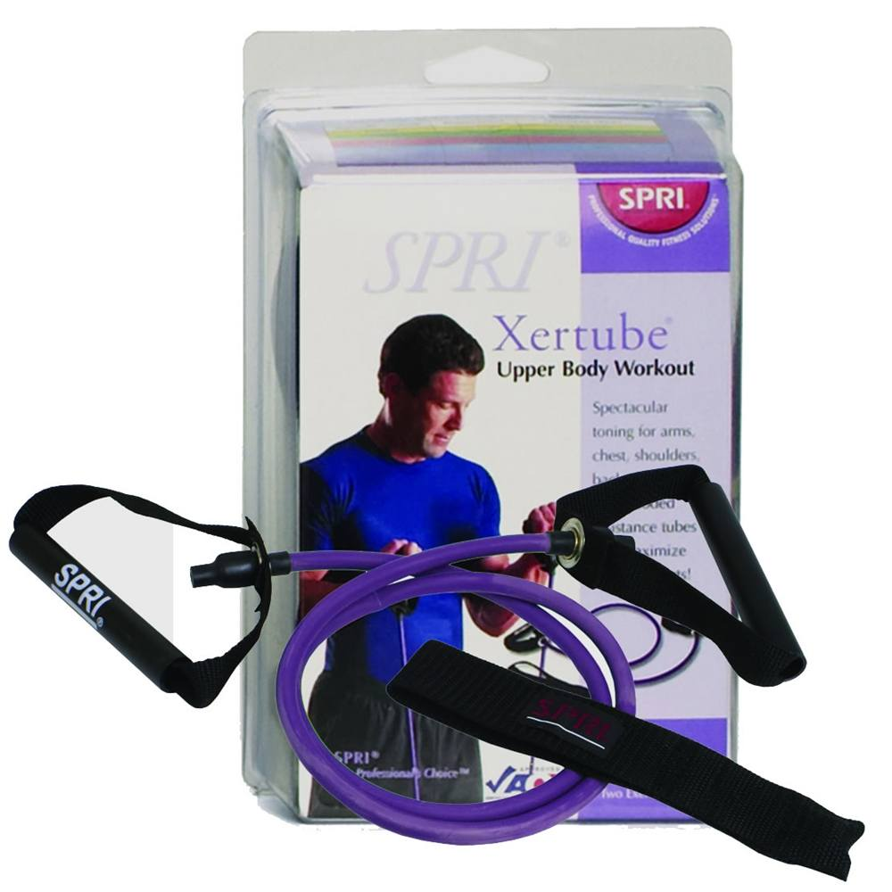 SPRI - Xertube Very Heavy Resistance Band Purple