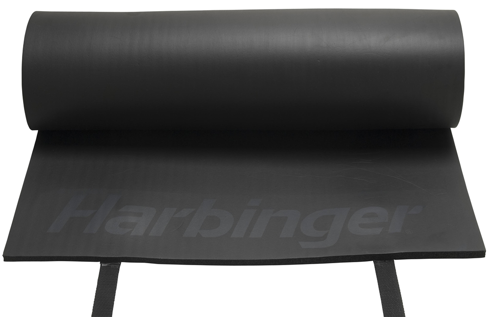 Harbinger - Rolled Durafoam Exercise Mat- Black