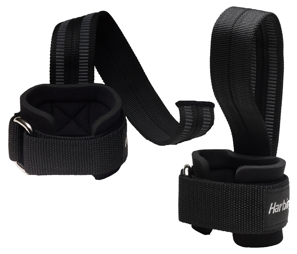 Harbinger - Big Grip No-Slip Pro Lifting Straps