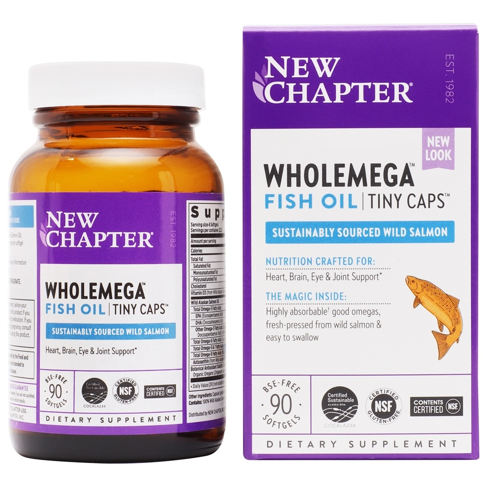 New Chapter Omega 3 6 9 Vitamins and Supplements