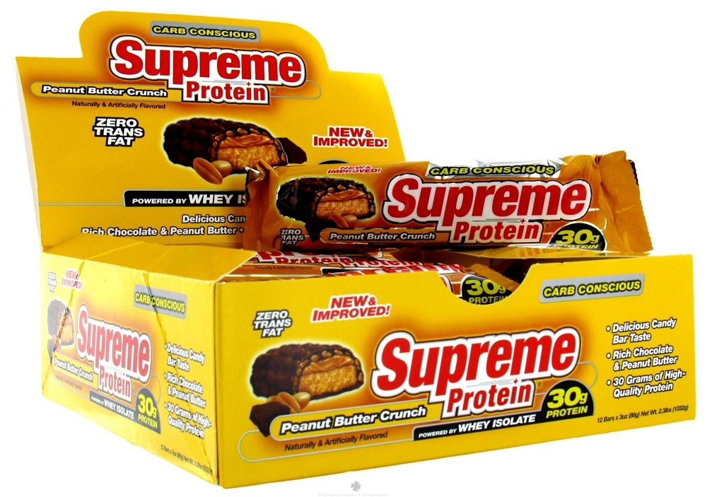 Supreme Protein - Carb Conscious Bar Peanut Butter Crunch - 3 oz.