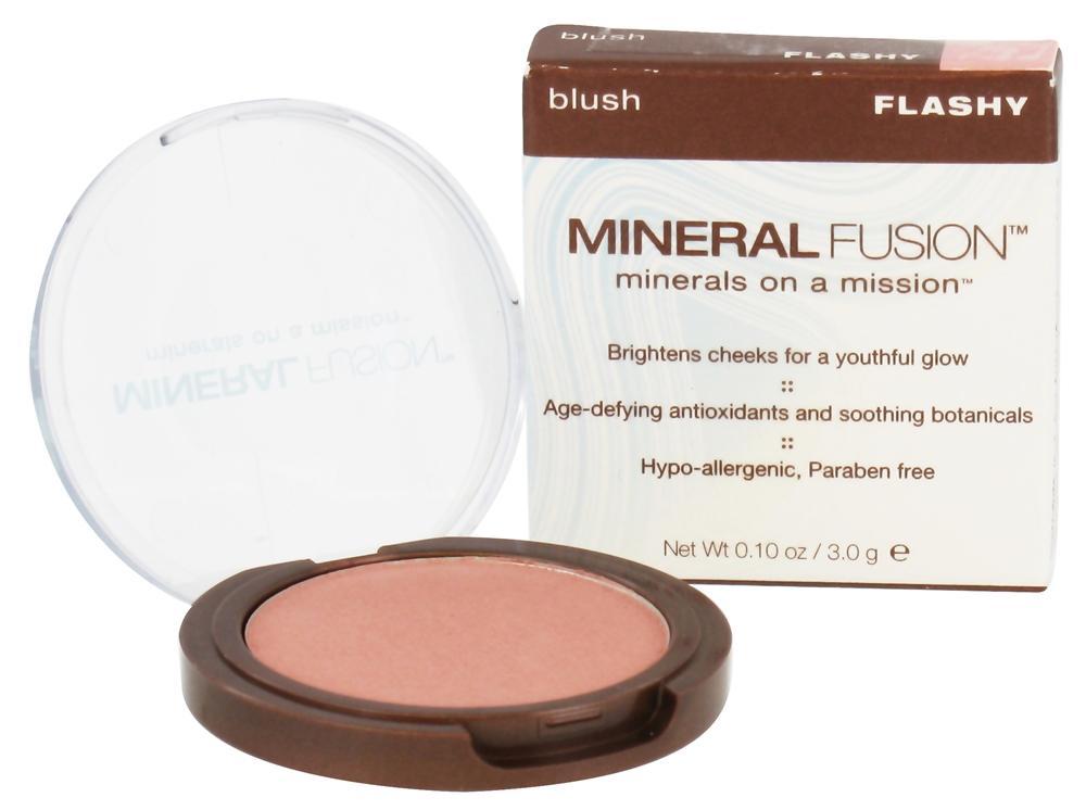Mineral Fusion - Blush Flashy - 0.1 oz.