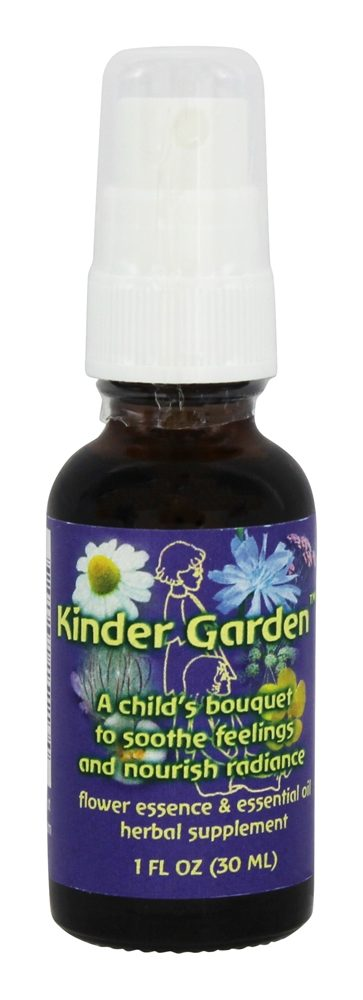 Flower Essence Services - Kinder Garden Formula - 1 oz. CLEARANCE PRICED