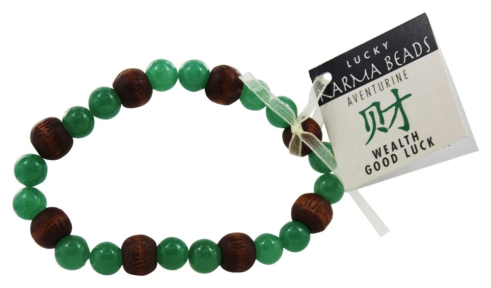 Zorbitz - Karmalogy Lucky Karma Beads Bracelet Aventurine Wealth & Good Luck