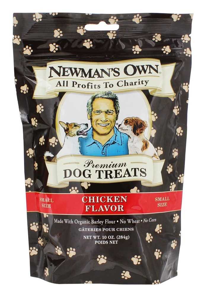 Newman's Own Organics - Dog Treats Small Size Chicken Flavor - 10 oz.