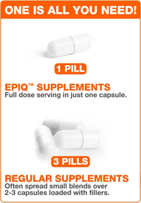 EPIQ - Shred Non-Stimulant Weight Loss - 60 Capsules One Pill Is All ...