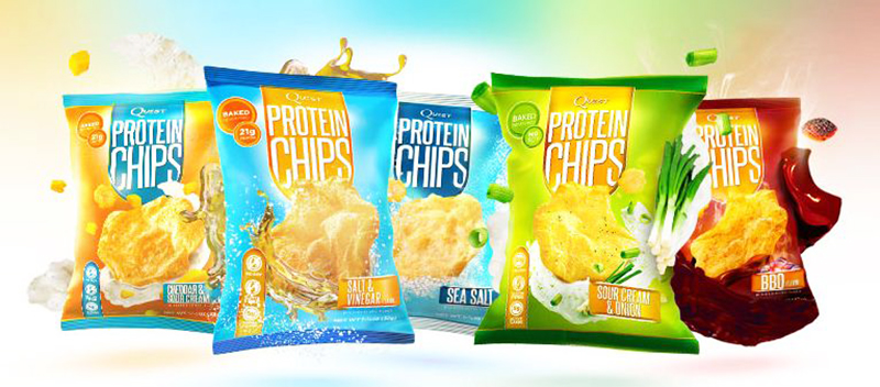 quest protein chips sverige