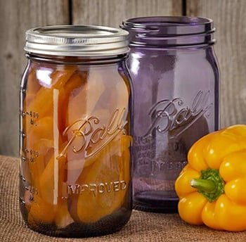 Ball Wide Mouth 32 Oz Quart Mason Jars Heritage